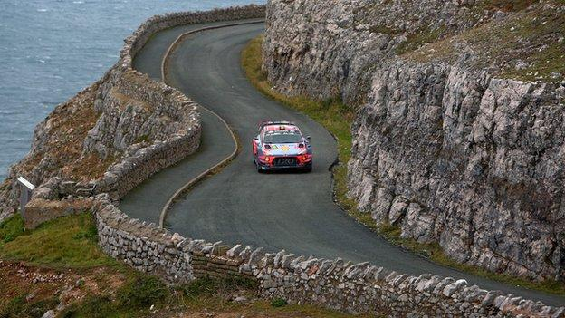 Wales Rally GB on the Great Orme 2019