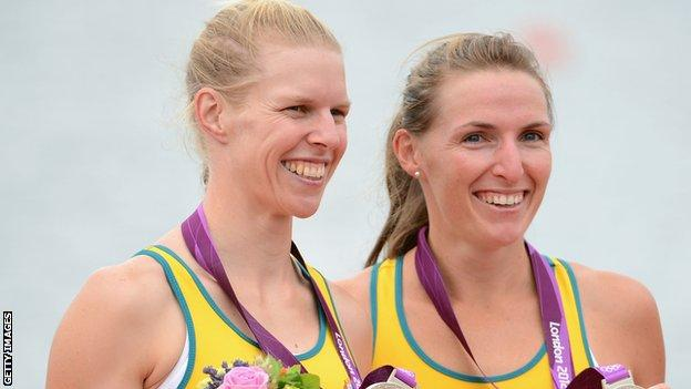 Sarah Tait (left) and Kate Hornsey