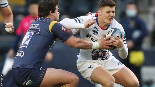 Worcester centre Francois Venter scored Warriors' try of the season before Wales stand-off Callum Sheedy's late conversion won the game