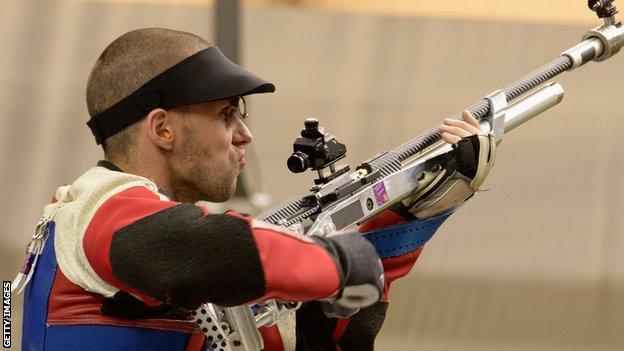 Paralympic shooting medallist Matt Skelhon