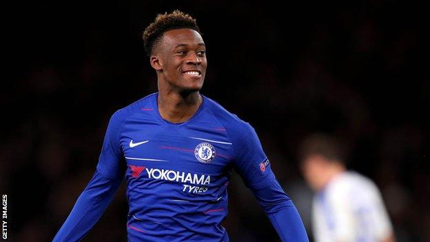 Callum Hudson-Odoi: Chelsea winger called up to England squad from Under-21s