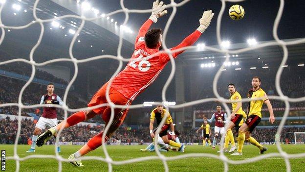 Aston Villa goal