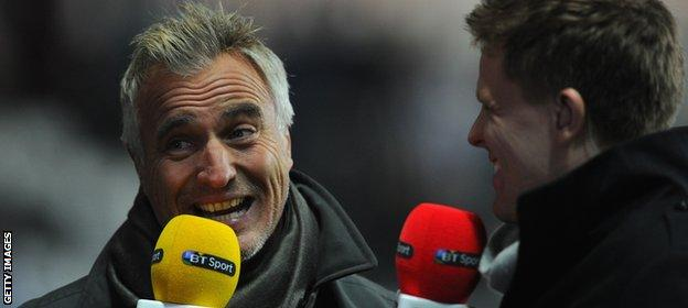 Ginola has been working as a football commentator