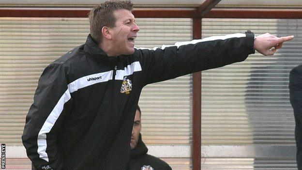 Pat McGibbon has managed Newry City and was first team coach at Dungannon Swifts