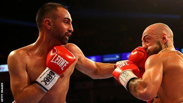 Malignaggi retired in March and held world titles in two weight categories during his career