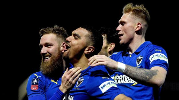 AFC Wimbledon 4-2 West Ham United in FA Cup fourth round thumbnail