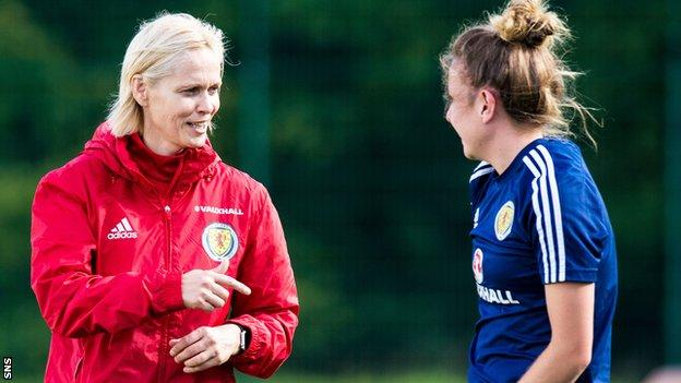 Shelley Kerr and Hayley Lauder