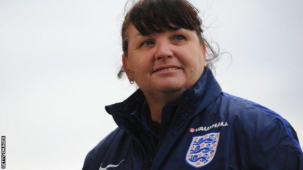 England Women's Under-20s head coach Mo Marley