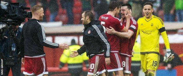 Aberdeen top the table after six wins on the trot