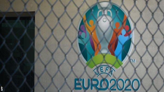 Euro 2020 sign