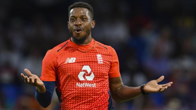 England in West Indies: Tourists bowl out hosts for just 45 to win T20 series thumbnail