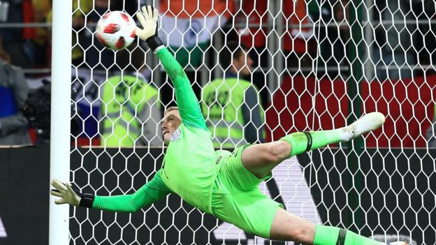 Watch: Pickford saves, Dier scores - England win penalty shootout