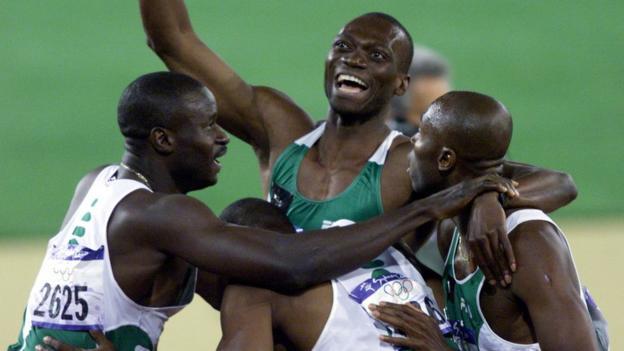 Nigeria men's 4x400m team