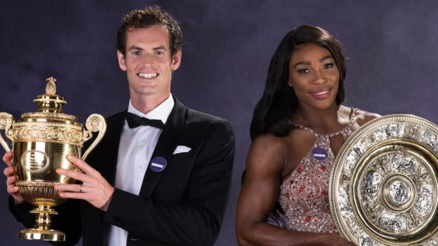 Wimbledon 2019: Serena Williams teases Andy Murray doubles partnership thumbnail
