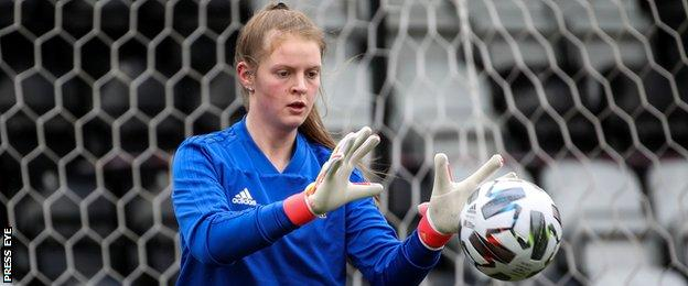 Maddy Harvey-Clifford has represented Northern Ireland at underage level