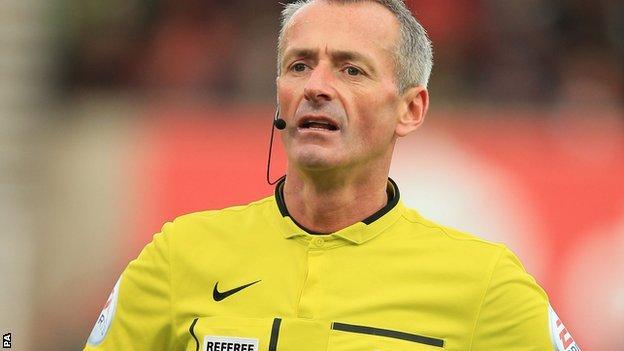 Atkinson has been a Premier League referee since 2005