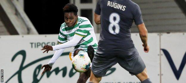 Frimpong impressed after replacing the injured James Forrest and created Celtic's clearest openings, including the decisive goal