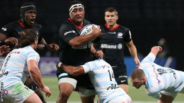 Stunning Racing Try Steals Late Win Over Saracens
