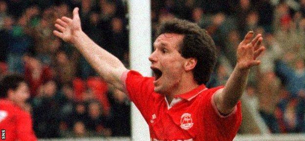 Hans Gillhaus made a spectacular debut for Aberdeen