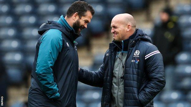 Ireland drawn to face champions South Africa and Scotland in pool stages