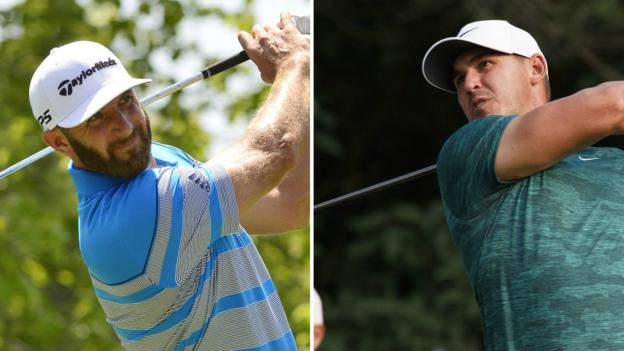 f4c645ca6bb Ryder Cup 2018  US team headed by Brooks Koepka and Dustin Johnson - BBC  Sport