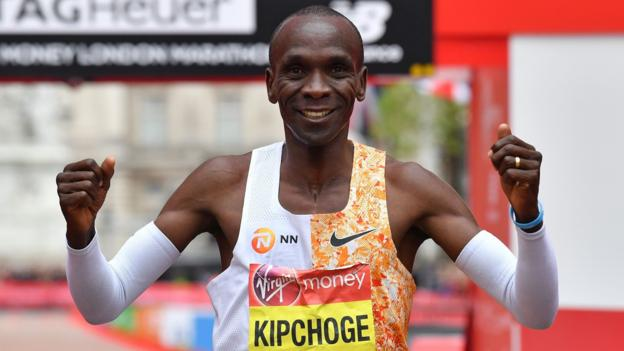 Eliud Kipchoge says running sub two-hour marathon is like 'stepping on the moon'