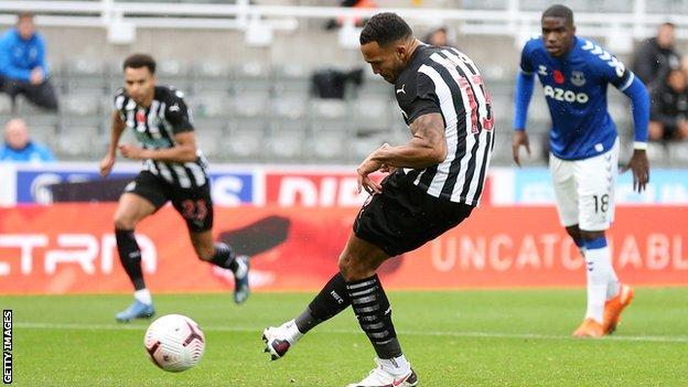 Callum Wilson scores for Newcastle