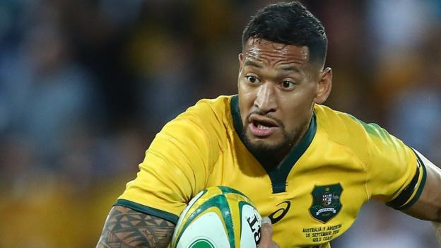 Israel Folau requests Rugby Australia hearing over anti-gay message thumbnail