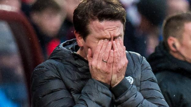 Hearts 2-2 Hamilton: Daniel Stendel says his side are running out of time to survive