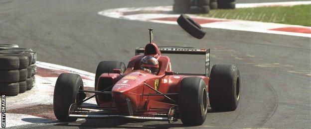 schumacher wins in 1996