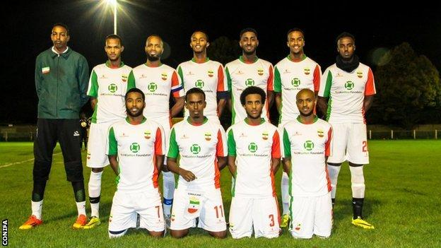Somaliland team