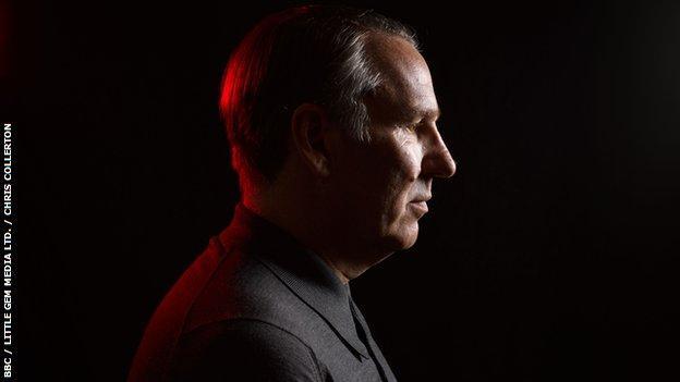 Paul Merson, side-profile.