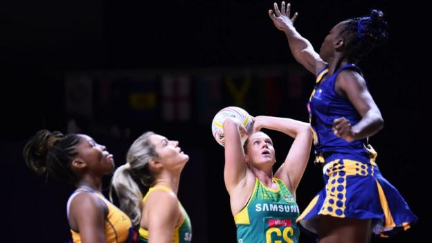 Netball World Cup 2019: England through as Scotland miss out on top eight on day six