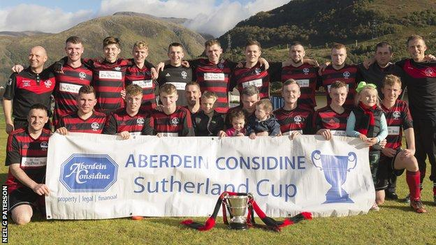 Lochside Rovers beat Kingussie's reserves 3-1 in Fort William