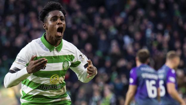 Celtic 2-0 Hibernian: Neil Lennon's side reinstate two-point lead thumbnail