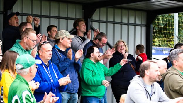 Aylesbury United fans have to make the 15-mile journey to Chesham to watch their team play 'home' games