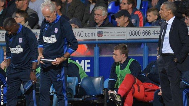 Mick McCarthy and Chris Hughton