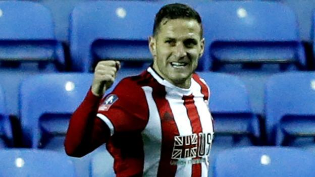 Reading 1-2 Sheffield United: Billy Sharp's extra-time goal fires Blades into FA Cup quarter-finals