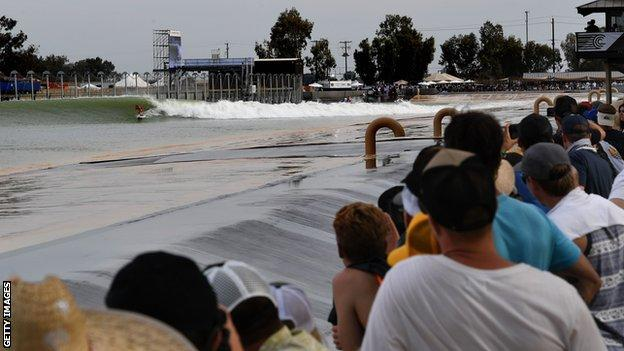 The Surf Ranch hosted a debut competition in May 2018