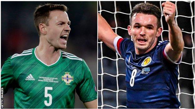 Jonny Evans and John McGinn