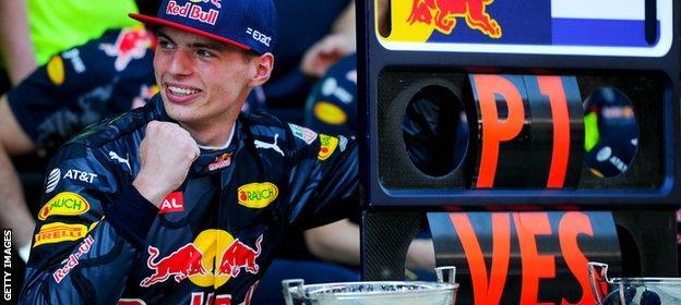 Red Bull F1 driver Max Verstappen