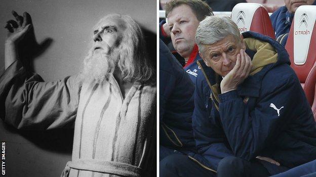 King Lear and Arsene Wenger