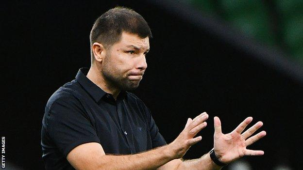Musayev has managed the youth and reserve teams at Krasnodar