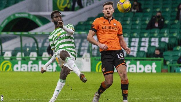 Odsonne Edouard completed Celtic's victory with his 12th goal of the season