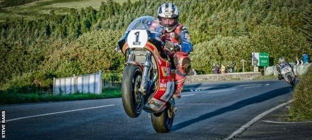 Michael Dunlop - TT course