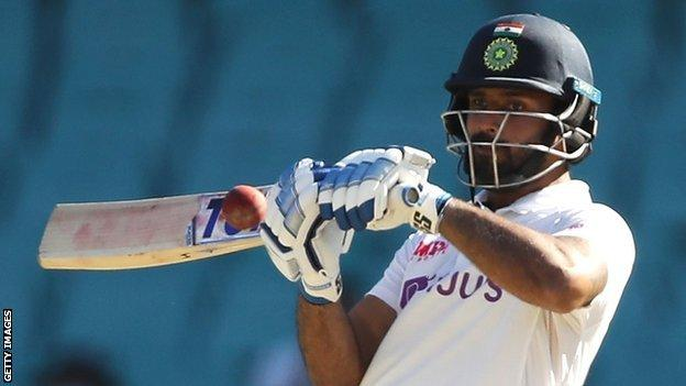 Hanuma Vihari has made 12 Test appearances for India, most recently the series win in Australia, after being bowled out for just 36 in the first Test at Adelaide