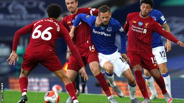 Everton 0 0 Liverpool Jurgen Klopp Praises World Class Alisson Bbc Sport