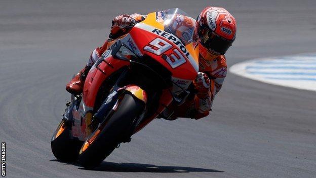Marc Marquez won the Spanish Grand Prix in 2019