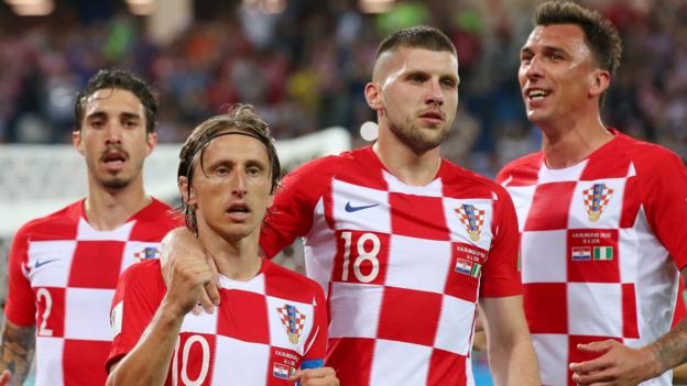 ea43f4782ef World Cup 2018  Croatia v England - all you need to know about the  semi-final - BBC Sport