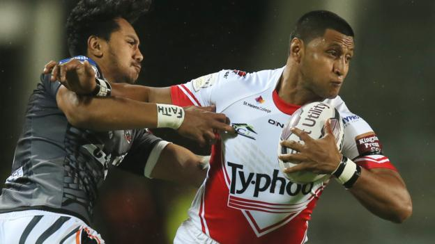 Super league st helens 40 16 castleford tigers bbc sport - English rugby union league tables ...